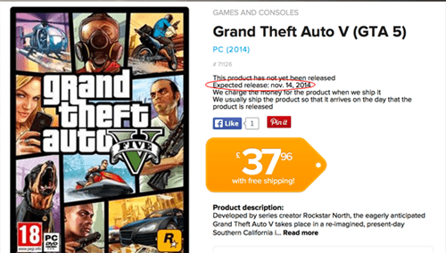 RUMOR: GTA V May Finally Make it to PC on November 14th
