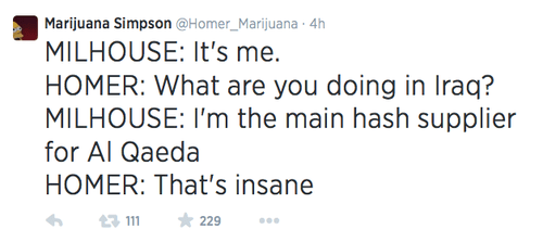 drugs,the simpsons,twitter