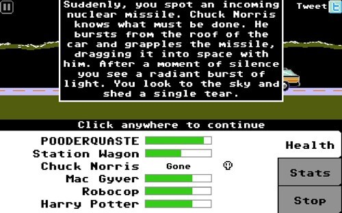 Chuck Norris Saves the Day