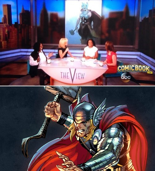 The View News Is Out: Thor Will Become a Woman