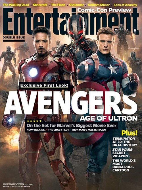 EW Gives Us a First Look at Ultron and Some Plot Spoilers For Avengers 2