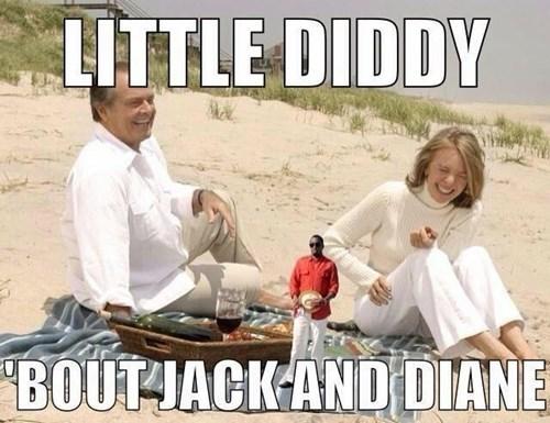 jack nicholson,diane keaton,P Diddy