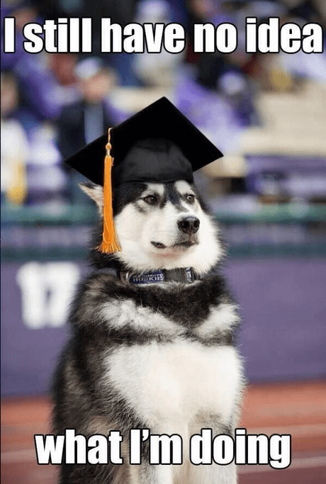 You're a College Graduate Now
