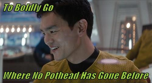 To Boldly Go  Where No Pothead Has Gone Before