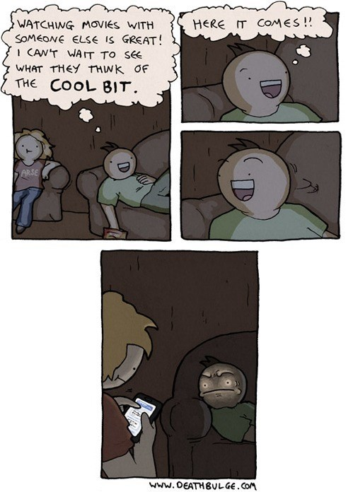 Watching Movies With Someone Else is Great