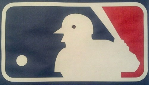 The MLB Logo is Just a Bird With Arms