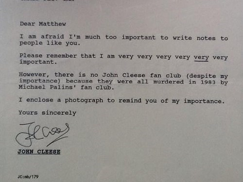 John Cleese Fanclub