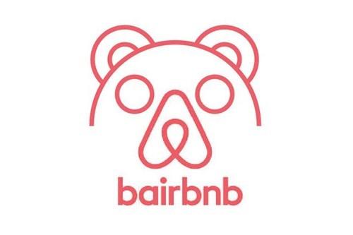 "Airbnb bear ""bairbnb"""