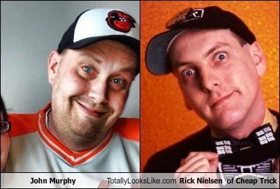 John Murphy Totally Looks Like Rick Nielsen  of Cheap Trick