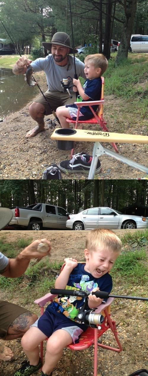First Fishing Trip: Not a Success