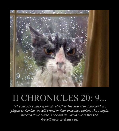 II CHRONICLES 20: 9...