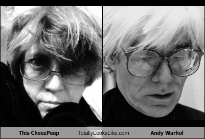This CheezPeep Totally Looks Like Andy Warhol