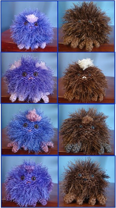 Knit Your Own Weasley's Wizarding Wheezes' Pygmy Puffs