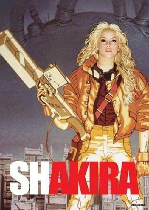 Shakira's Destroying Neo Tokyo One Song at a Time