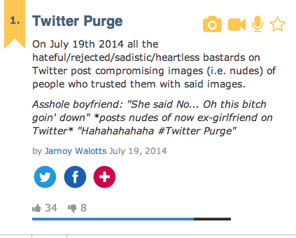 This Weekend's #twitterpurge is More Proof That We Can't Have Nice Things. Ever.