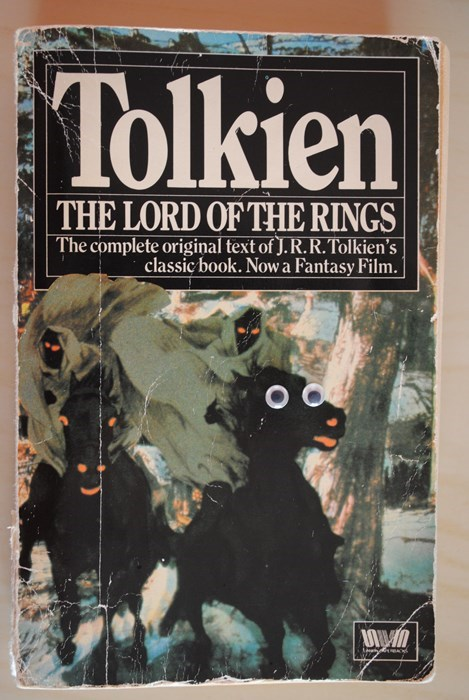 books,googly eyes,Lord of the Rings,nerdgasm,reading is sexy