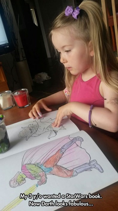 coloring book,darth vader,coloring,fabulous,kids,star wars,parenting,scifi,g rated