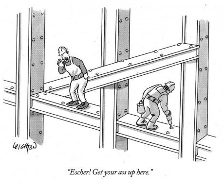 MC Escher's First Job Didn't Quite Work Out
