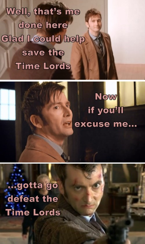 The Doctor's Sending Mixed Signals