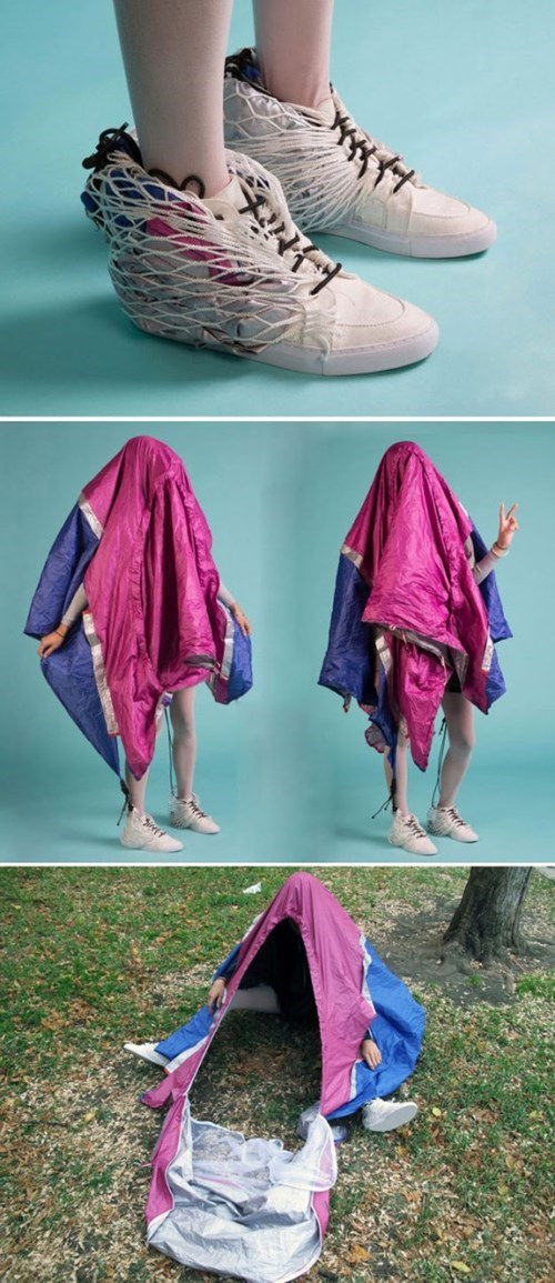Carry a Tent Wherever You Go