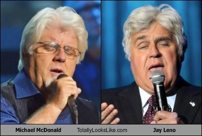 Michael McDonald Totally Looks Like Jay Leno