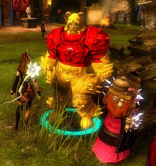 Winnie the Pooh Spotted in Guild Wars 2