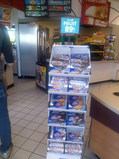 bait and switch,monday thru friday,convenience store,junk food