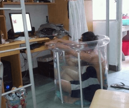 Classic: Beat the Heat in a Ridiculous Way
