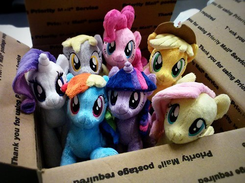 Awesome Hand-Made Plushies Available at Brony-Con