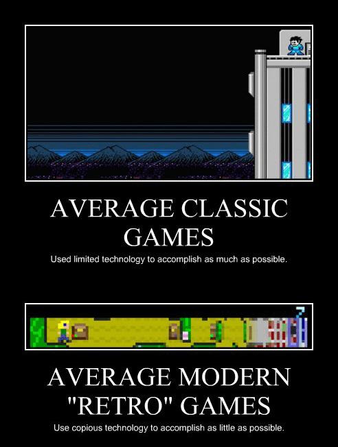 """Classic vs. """"Retro"""""""