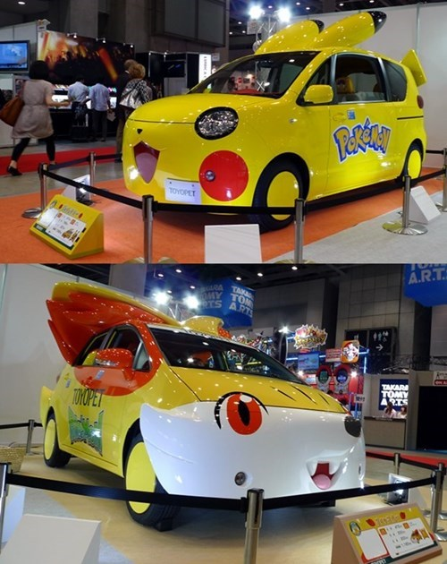 Toyota Teamed Up With Nintendo to Make Pokémon Cars