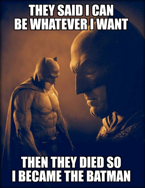 There's A Reason He's SAD Batman
