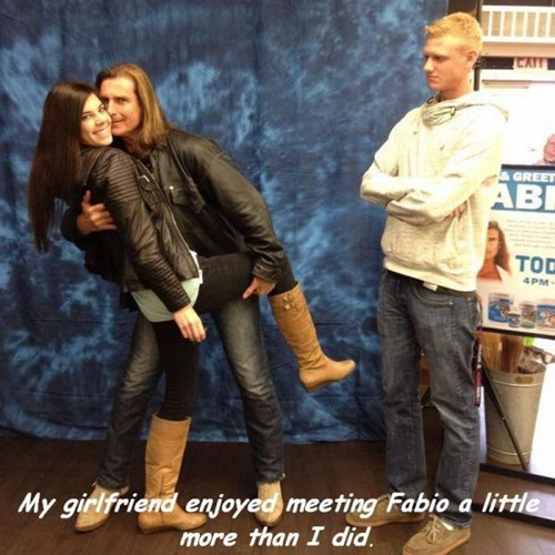 Fabio's Always a Hit With the Ladies