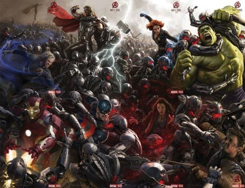 The SDCC Age of Ultron Poster is Finally Complete