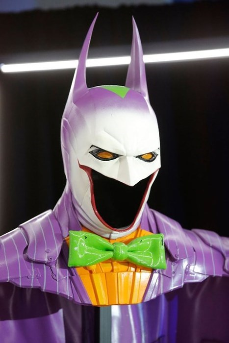 The Joker Gave Batman a Makeover