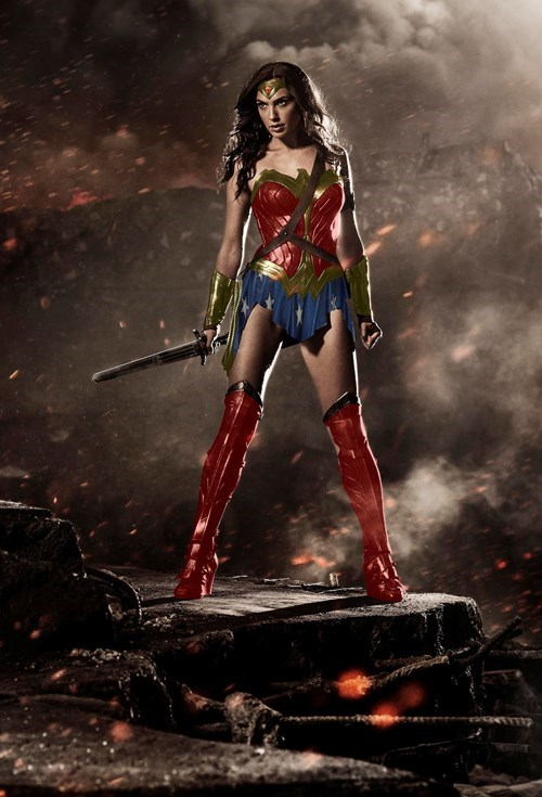 "Putting Gal Gadot in a more ""traditional"" Wonder Woman costume"