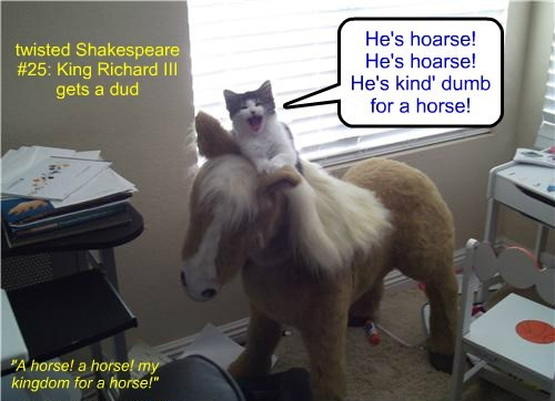 twisted Shakespeare #25: King Richard III gets a dud