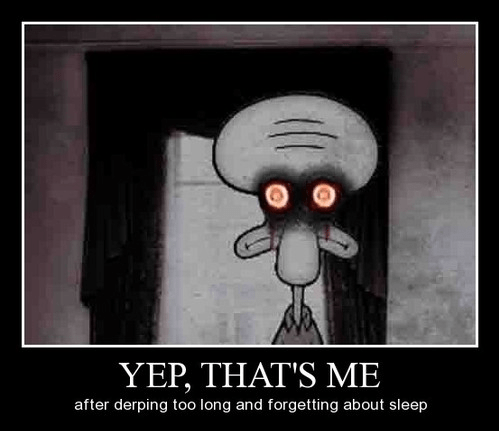 Squidward the Insomniac