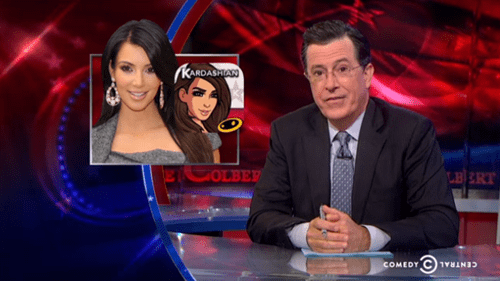 stephen colbert,kim kardashian,video games,funny,Video