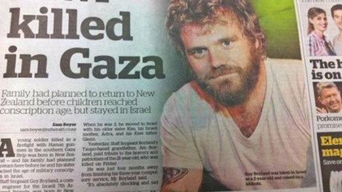 A New Zealand Newspaper Just Ran a Photo of Ryan Dunn Instead of an Israeli Soldier's