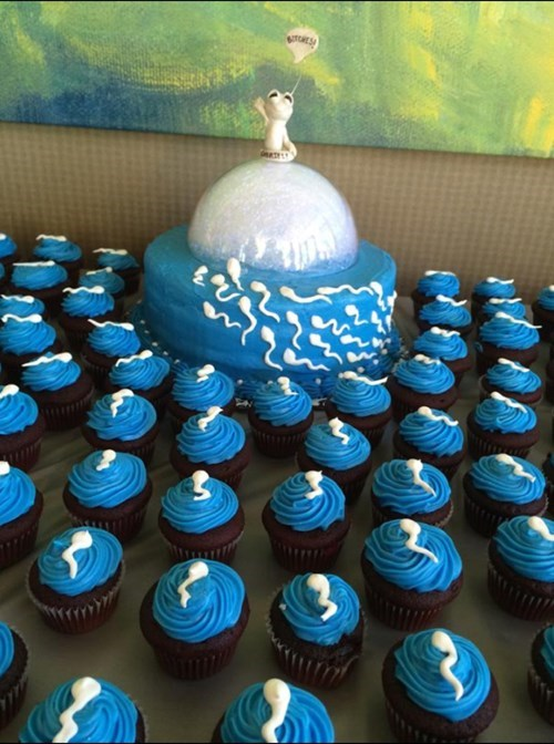 Looking For a Unique Baby Shower Cupcake Display?