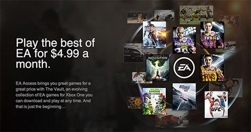 Get Your Fill of EA for Five Dollars a Month (or Thirty Dollars a Year)