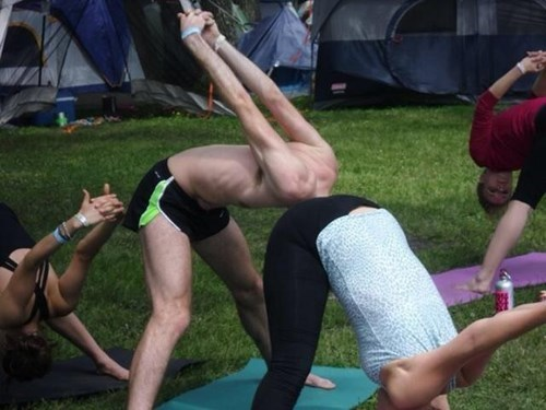 I KNEW Yoga Enthusiasts Had Their Heads Up Their Asses