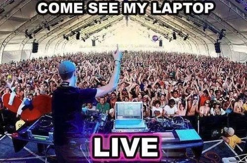 DJs These Days Be Like...
