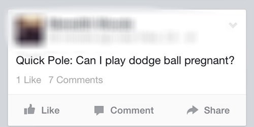If You Can't Dodge a Baby, You Can't Dodge a Ball