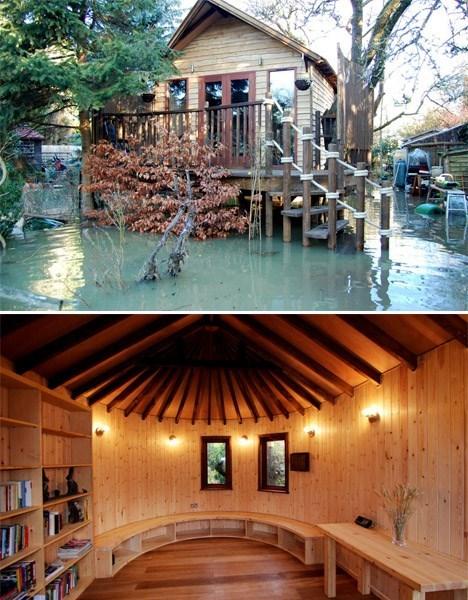 tree house,architecture,design