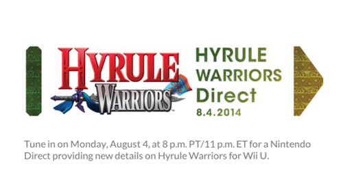 Hyrule Warriors Nintendo Direct Coming August 4th