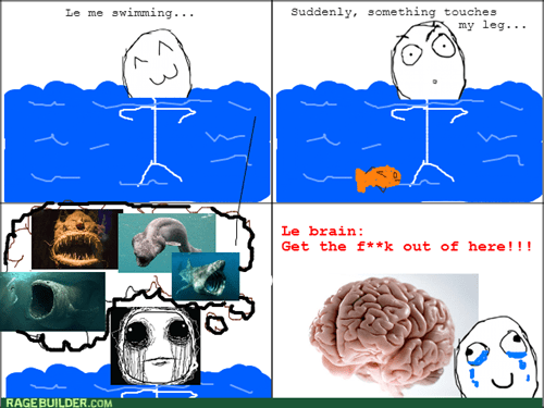I Will Not Swim Again!