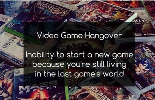Which Games Has Done This to You?