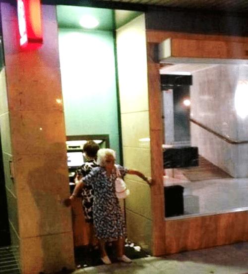 grandma,old people,batman,fail nation